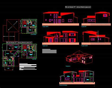 cuisine dwg plan maison 3d dwg