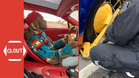 Lil uzi vert woke up in new bugatti. Lil Uzi Vert's $1.7M Bugatti Gets Booted & His Rim Damaged By NYPD Officer! - YouTube