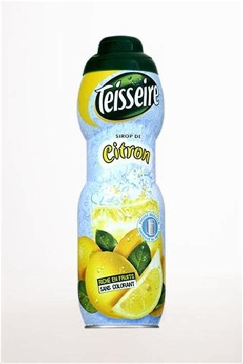 cuisines teisseire teisseire citron lemon syrup for drinks the gourmet corner