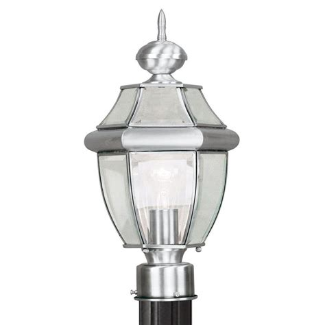 Livex Lighting Providence 1light Outdoor Brushed Nickel