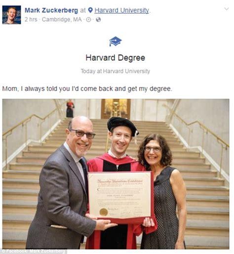 mark zuckerberg  honorary degree  harvard daily