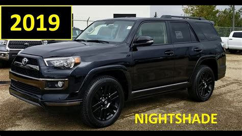 toyota runner nightshade edition  black review