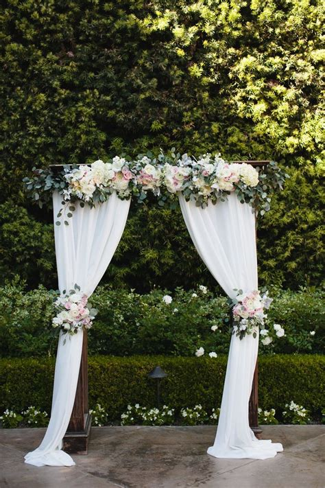 draping flowers for weddings 25 best ideas about white wedding arch on