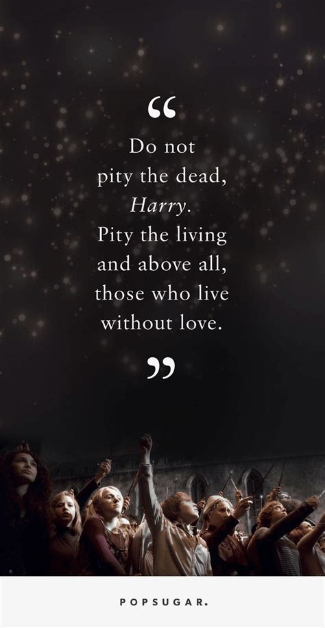 harry potter quotes  loss  helping