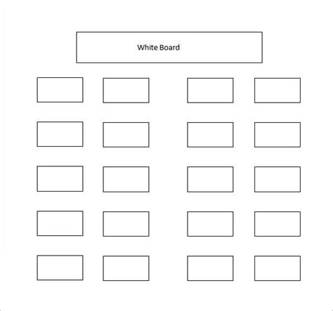 seating chart template word classroom seating chart template 10 free sle exle format free premium