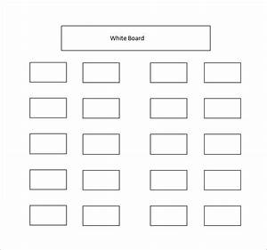 classroom seating chart template 10 free sample With table seating plan template free download