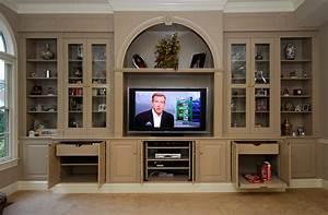 Custom Built-In Entertainment Centers - Walmer Enterprises
