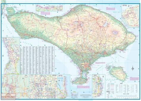 bali lombok carte touristique nostromoweb