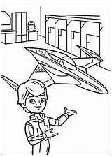 Miles Tomorrowland Futuro Coloring Dibujos Colorear Manana Dibujosparacolorear Pintar sketch template