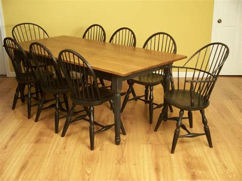 windsor table and chairs windsor chairs and dining table