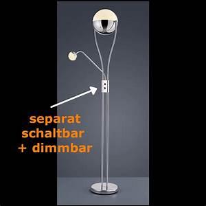 Stehlampen Led Mit Dimmer : led leselampe und stehleuchte mit dimmer ~ A.2002-acura-tl-radio.info Haus und Dekorationen