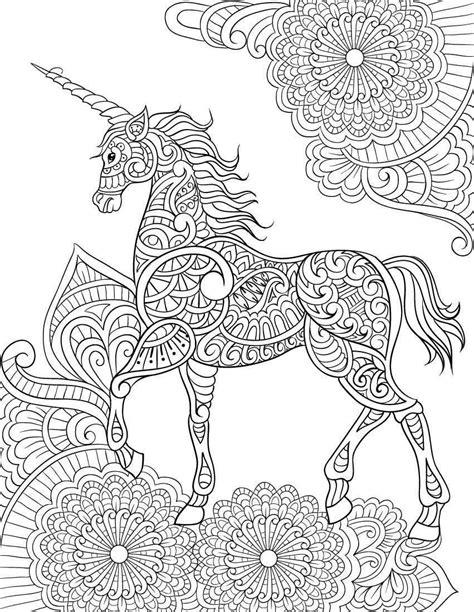 coloring pages unicorn unicorn mandala coloring pages only coloring pages