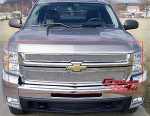 Fits 07 3500 Stainless Mesh Grille