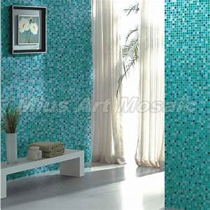 high quality aqua recycled glass tiles bathroom mosaic With recycled glass tiles bathroom