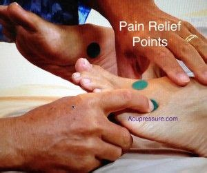 acupressure points  pain relief video natural