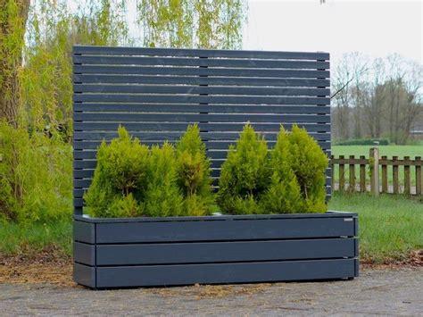 Sichtschutz Garten Verboten by Pflanzkasten Holz Lang L Mit Sichtschutz Sichtschutz