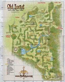 LOTRO Old Forest Map