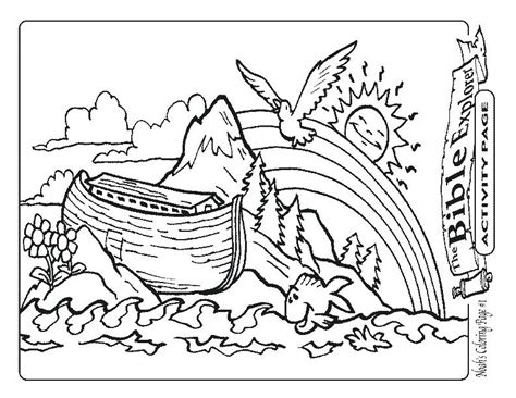 noahs ark animal coloring pages  getcoloringscom