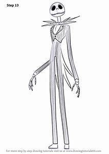 Learn How to Draw Jack Skellington from The Nightmare ...