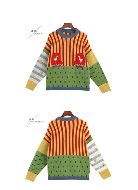 colorful sweaters toyouth 2016 colorful sweaters preppy style stripe