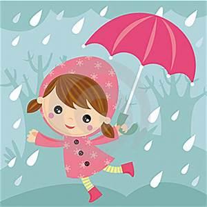 Rainy Day Cartoon | Stock Photography: RAINY DAY by Agau ...