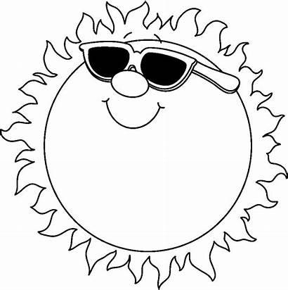 Summer Clip Clipart Cliparts Sun August Happy