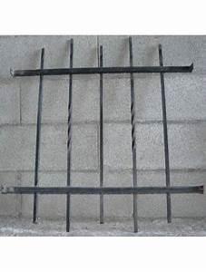 Grille De Défense Fenetre : grille de defense droite 90x75 cm pour fenetre a visser ~ Dailycaller-alerts.com Idées de Décoration