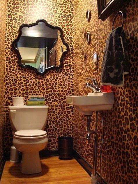 25 best cheetah print bathroom ideas on