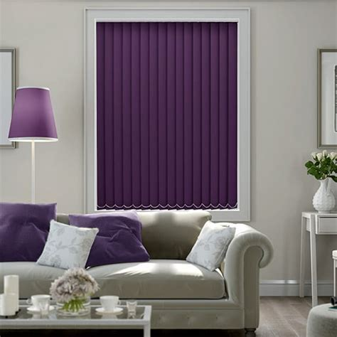 Blinds Purple by Cordoba Purple Blackout Vertical Blind