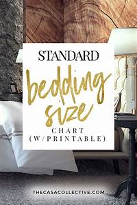 Bed Sheet Sizes Chart Bedding Size Chart What Size Mattress Sheets You Really