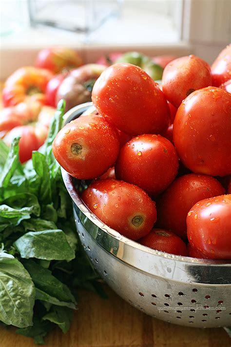 fresh tomato recipes fresh tomato sauce recipe dishmaps