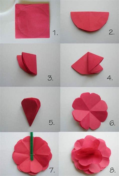 einfache papierblumen falten anleitung einfache blumen falten anleitung haus design ideen