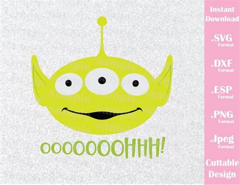 alien quote ooohhh  toy story disney inspired family