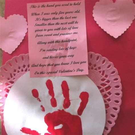 handprint and poem for parents for s day 575 | 41667bf59046938fe121f2122c9fca54