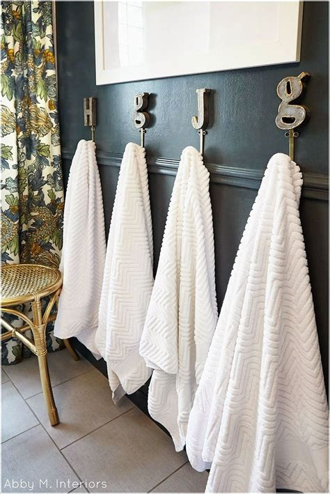 bathroom towel hooks ideas 20 towel display ideas for contemporary bathrooms