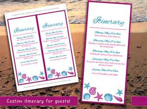 simple wedding program template event itinerary template 5 free word documents