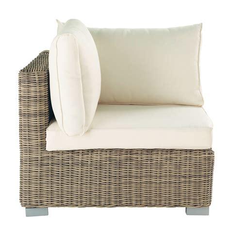 canape en resine tressee angle de canapé de jardin en résine tressée st raphaël