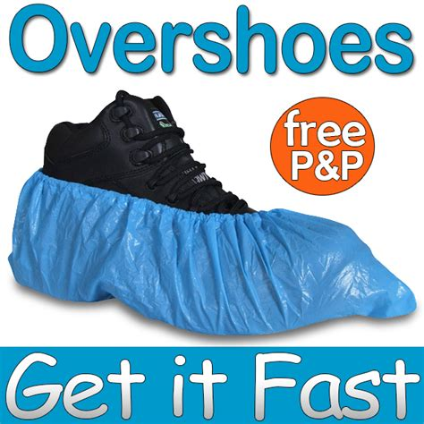 extra strong blue disposable overshoes covers carpet floor