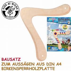 Bumerang Für Kinder : farbkleckse ideen fuer kinder bumerang aus holz zum bauen ~ Orissabook.com Haus und Dekorationen