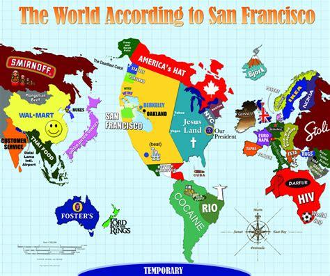 The World According to San Francisco   Uptown Almanac