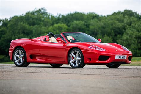 Today dan barry is walking around our 2001 ferrari 360 spider f1 edition. 2001 Ferrari 360 F1 Spider - Classic Car Auctions
