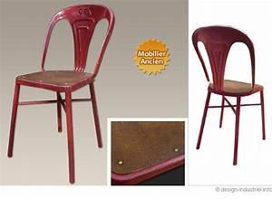 Chaise Metal Tolix : chaise tolix ~ Teatrodelosmanantiales.com Idées de Décoration