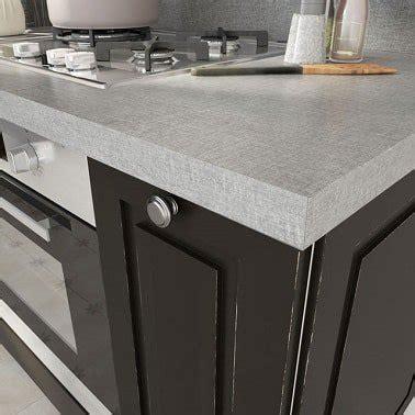 plan de travail cuisine gris clair aspect textile gris cuisine plan de travail castorama