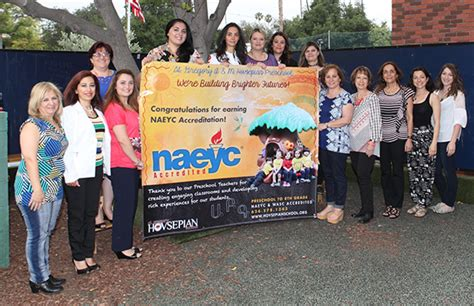 st gregory hovsepian preschool earns national naeyc 397 | Color Picture Hovsepian Press Release