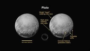 Pluto And Charon Surprise with Chasms, Cliffs And Craters ...