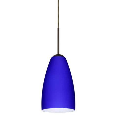 cobalt blue pendant light fixture bellacor