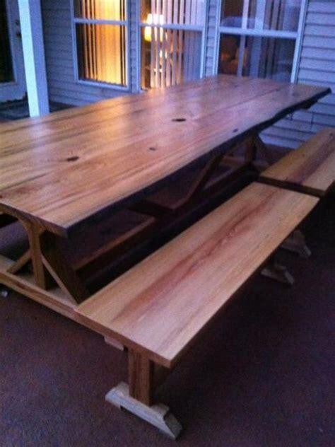 ana white fancy  farmhouse table  sinker cypress
