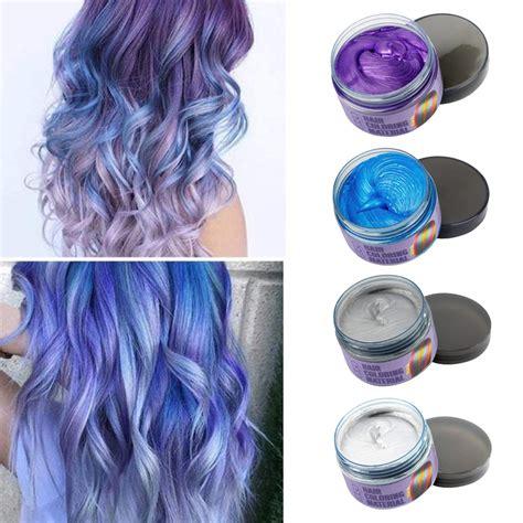 Mofajang Hair Wax 4 Colors Kit Temporary Hair Color Easy