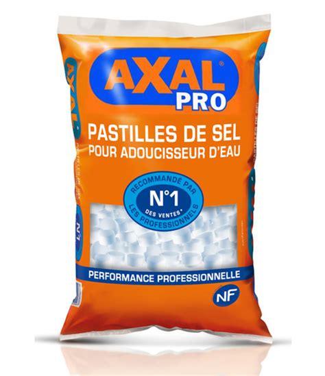 sel adoucisseur pastille axal pro sac de 15 kg npm lille