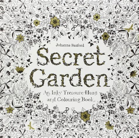 secret garden coloring book therapy anti stress coloring books for adults terumah
